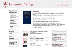 Lehmstedt Verlag Leipzig