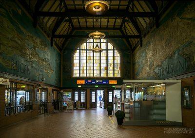 Stralsunder Bahnhofshalle