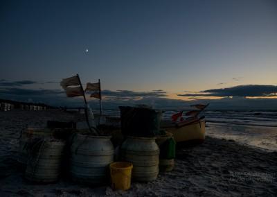 Boot mit Mond