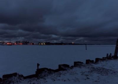 Hafen Vitte am Abend