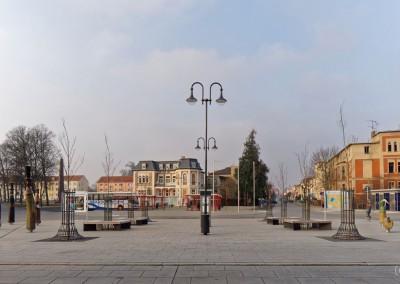 Bahnhofsvorplatz Neustrelitz