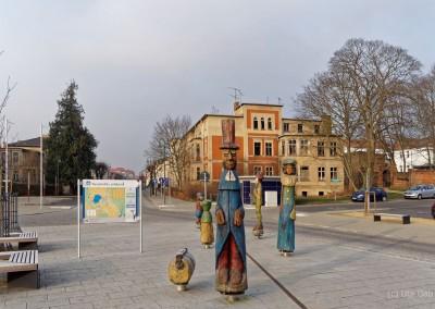 Bahnhofsvorplatz Neustrelitz II