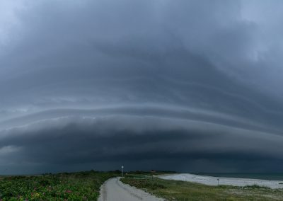 Gewitter über der Insel
