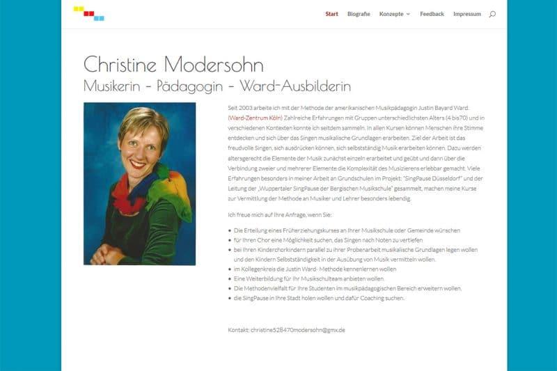 Christine Modersohn