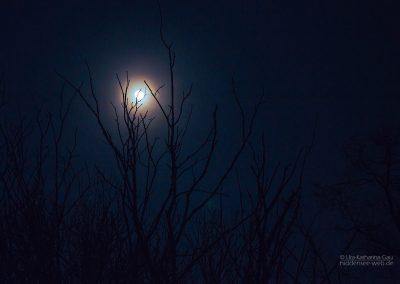 Der Mond hat einen Hof