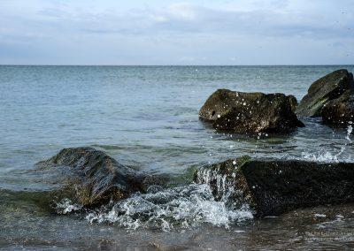 Spritzige Steine