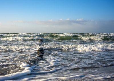 Buhnen und Wellen