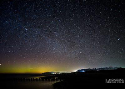 Polarlicht über Hiddensee, 27./28.3.2017