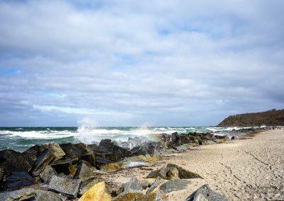 Wind, Wellen und Meer