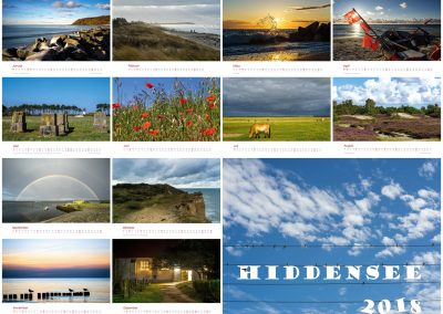Kalender Hiddensee 2018