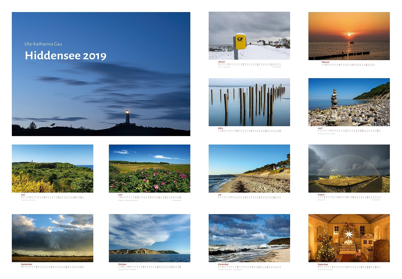 Kalender Hiddensee 2019