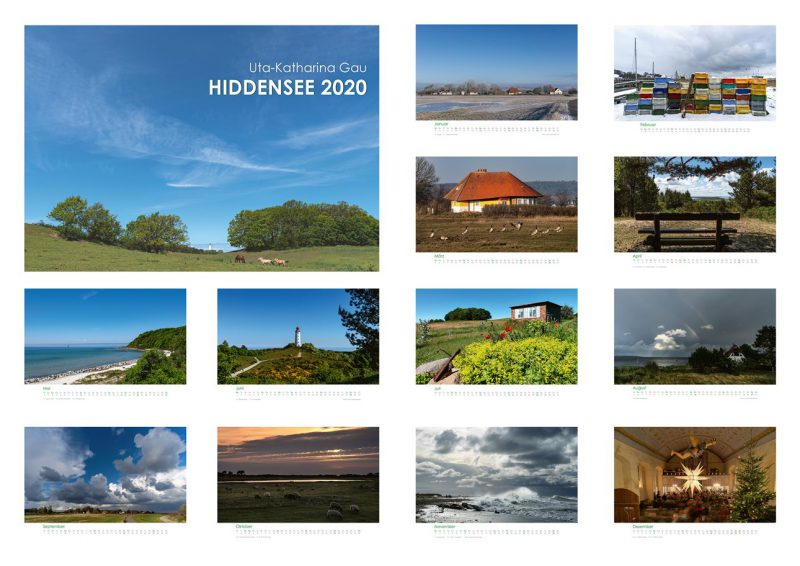 Kalender Hiddensee 2020