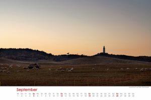 Hiddensee Kalender: September